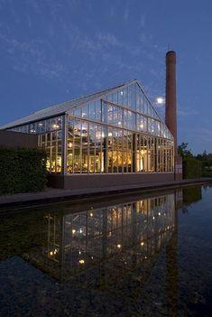Restaurant en Kwekerij De Kas - Amsterdam - Park Frankendael in Oost