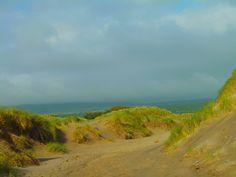 Sand dunes and mountains Dyffryn Gwynedd Wales from Sarah Kay