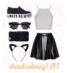 Summer Look { 6 } by claudiadarcy101 on Polyvore featuring polyvore, fashion, style, Topshop and Yves Saint Laurent. I hope you like the set ! Follow and like to see more !   Instagram : _polyvore_fashionista101_ Polyvore : claudiadarcy101