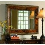Ambella Home Collection - Elegant Penshell Mirror - 06699-140-039  SPECIAL PRICE: $1,680.00