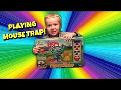 Mouse Trap - Elefun and Friends MouseTrap game - Playing Mouse Trap Kids Game with Wesley! - YouTube
