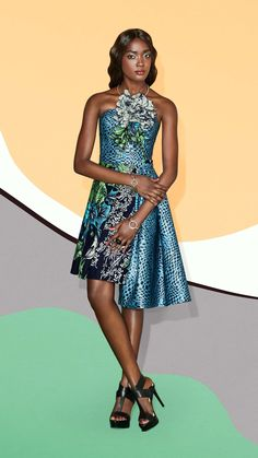 Vlisco Fashion Look - l'Éclat du SoleilVlisco V-Inspired