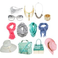 SD accessories in light summer colours