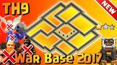 TH9 War Base 2017 With New Update. TH9 New War Base 2016 & 2017 With Bomb Tower With War Replays Proof. Clash Of Clans Town Hall 9 (TH9) ANTi 3Stars New War Base 2017. New ANTi GHBH TH9 War Base 2017. https://www.youtube.com/watch?v=MIUmOTOKU6g&index=1&list=PLKSQ2WcmIpM1yOmXU-lKpUkHaxOd2V0_A    Subscribe This Channel: https://www.youtube.com/clashwithrayofficial?sub_confirmation=1    How to help my channel?  SUBSCRIBE my Channel for more videos.  Like this video.  Share this video with your…