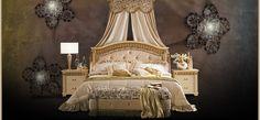 Florence (кровать,тумбочка,банкетка,шторы) Cenedese Florence Кровать AR1