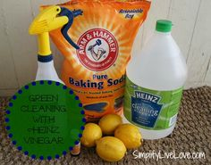Green Cleaning Tips using Heinz Cleaning Vinegar