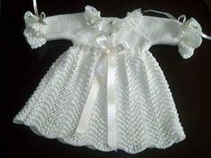 Fotos Lindos VESTIDOS de tricô para bebê - Como fazer passo a passo | Vest Decor