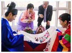 Beautiful Korean Wedding traditions #Atlanta