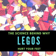 Legos are notorious for being painful, but why is it that? This video explains the science behind why stepping on a lego hurts so much.