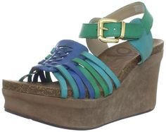 OTBT Women's Birmingham Wedge sandal >>> Click image to review more details.