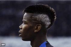 Pogba hair style gif