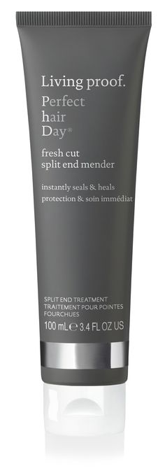 Living Proof's Perfect hair Day Split End Mender instantly seals and heals your spit ends, mimicing the look of a fresh haircut for healthy, gorgeous hair. #YourBestHair