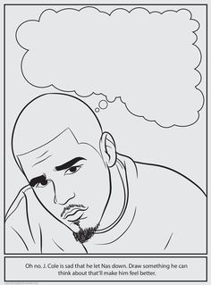 Bun Bs Rapper Coloring and Activity Book