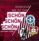 #lastminute  2 Tickets RB Leipzig Dauerkarte für 3 Heimspiele Darmstadt Leverkusen Freiburg #deutschland