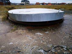 Atlantikwall Regelbau Bertha - Commando Bunker for Luftwaffe Night Fighter From World War 2 Hidden Places, Secret Places, Abandoned Buildings, Abandoned Places, Secret Bunker, Bunker Hill Monument, Doomsday Bunker, Underground Shelter, Safe Room