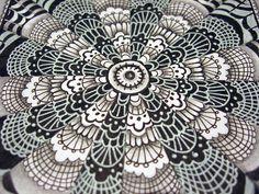 Lace detail by Mafe.Mavromati, via Flickr
