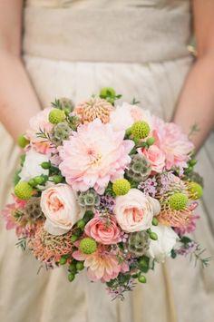 pretty bouquet {Jeff Martins Florist}