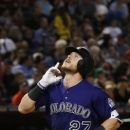 Story ties rookie mark with 10th HR in April; Rockies roll (Yahoo Sports)