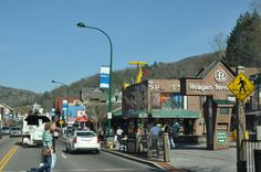 Check out the many unique shops at the Reagen Terrace Mall in Downtown Gatlinburg.