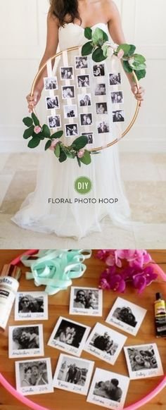 Floral Hula Hup / www. Diy Wedding, Dream Wedding, Wedding Day, Fashion Bubbles, Photo Deco, Bridal Shower, Baby Shower, Shower Party, Creation Deco