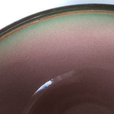 bowl Heath ceramics large vintage made in USA California serving iridescent glaze incised pottery Pottery Shop, Heath Ceramics, Ceramic Bowls, Iridescent, Glaze, Exterior, California, This Or That Questions, Usa