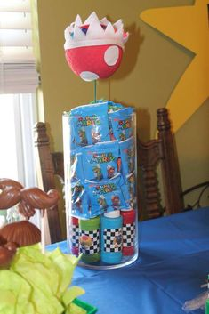 Mario Kart Wii Birthday Party Ideas   Photo 1 of 13   Catch My Party