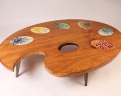 UNIQUE COFFEE TABLE made in the 70s