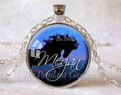 PERSONALIZED HORSE PENDANT Custom Horse by ThePendantGarden