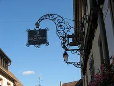 Eguisheim enseigne 5882 | Flickr: Intercambio de fotos