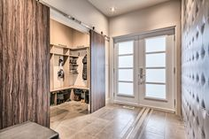 Today's mudrooms are practical, but they're also beautiful, sought-after spaces BY SUSAN KELLY Its name is Mud House, La Rive, Modern House Design, Mudroom, Building A House, Entryway, Design Inspiration, Living Room, Furniture