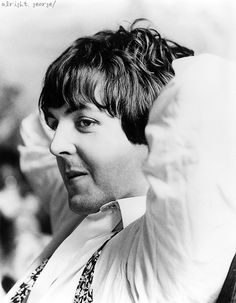 Paul McCartney by Robert Whitaker