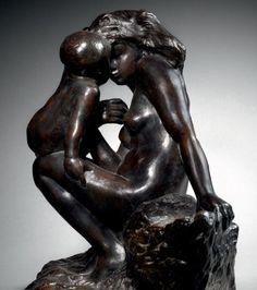 Bronze à patine brune noire nuancée de vert conçu e 1885 par Auguste Rodin . Estimation entre 80 et 100 000 € (en vente à Drouot Richelieu - Salle 9 - le Mardi 16 févr. 2016 à 18h00)