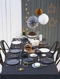 Prachtig gedekte kersttafels