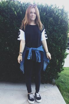 Allie M. of California Shows off Sporty Sleeves