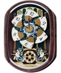 Seiko Melodies In Motion Musical Wall Clock 2014