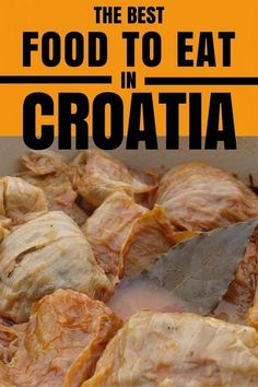Traditional Croatian Food Guide: You asked we answered our must-try list of Croatian food. The only question is, what Croatian food will you try first? Traditional Croatian Food, Croation Recipes, Croatian Cuisine, Croatia Travel Guide, Croatia Tourism, Pula, Visit Croatia, Good Foods To Eat, Dubrovnik Croatia