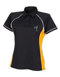 "Amber PAR Golf Polo Shirt ""Golfsport.News"" - Größe L - Golfsport.News - Made by DieEventfotografen"