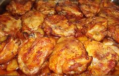 Meat Recipes, Recipies, Chicken Wings, Main Dishes, Food And Drink, Cooking, Recipes, Main Course Dishes, Kitchen