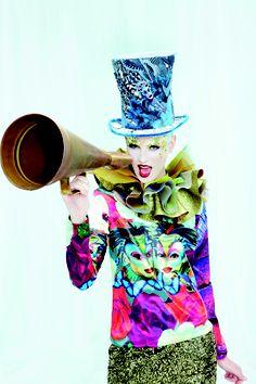 Scream it: Desigual Inspired by Cirque du Soleil!