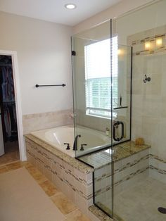 Idea for adding a shower to the Master Bathroom