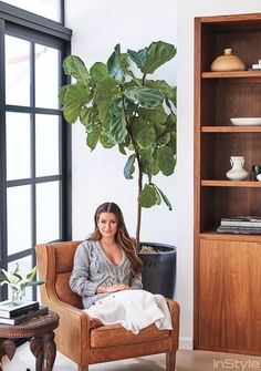 Shop Lea Michele's House: How to Get Her Modern Organic Style at Home - GREENHOUSE EFFECT from InStyle.com