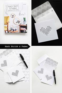 GESCHENKIDEE - Dekorative Stick-Ideen (Verlosung und Druckvorlage)