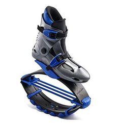 Kangaroo Training Shoes blue large, women's 10-12, men's 9-11 iNovation Works