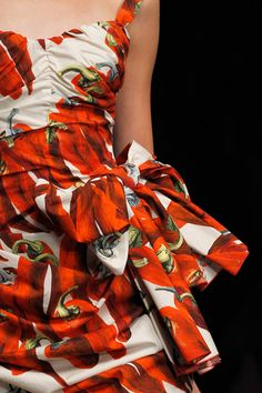 Details from the Dolce & Gabbana SS12 collection