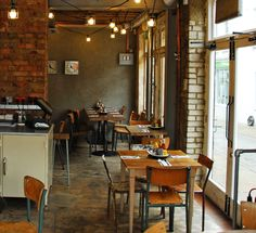 Byron - great burgers + courgette fries (multiple locations around the city)
