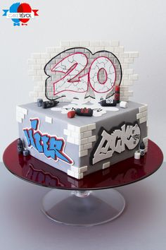 NOS CRÉATIONS - Street Art - CAKE RÉVOL - Cake Design - Nantes