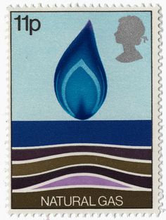 natural gas postage stamp
