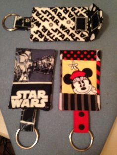 Key Fobs made for company winners going to Disney World.