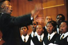 Gospel Choir competition held at the University of The Western Cape