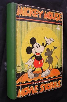 Mickey Mouse Movie Stories Book 1931 Dean & Son from molotov on Ruby Lane